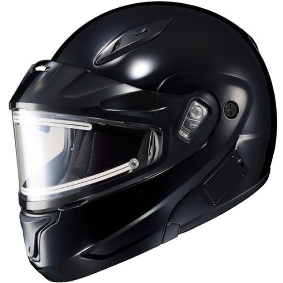 Arctic Cat Orange Modular Snowmobile Helmet Electric Shield L XL 2XL 5292-084