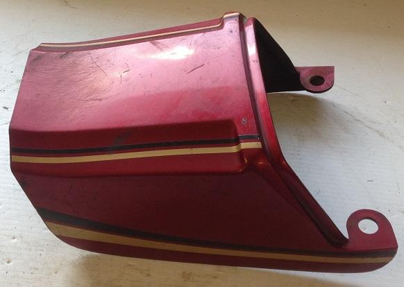 14025-1046 80 81 82 83 Kawasaki Z550 14025-1046-D9 SEAT Tail Cover
