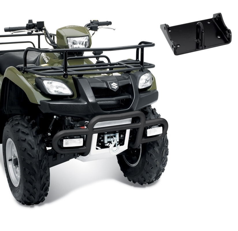 Center Plow Mount Warn  Suzuki King Quad