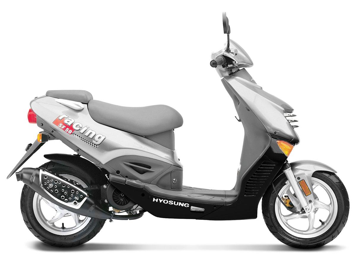 SF50-B Hyosung SB50ZR